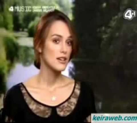 Keira Knightley interview for Atonement (UK TV)
