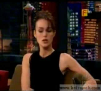 Keira Knightley on Jay Leno Show 24/06/03