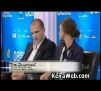 Keira Knightley - The Duchess - Toronto Film Festival interview, Ralph Fiennes