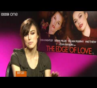 Keira Knightley, The Edge of Love Interview - BBC Breakfast