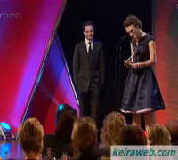 Keira Knightley@Variety Club of GB ShowBiz Awards