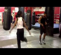 "Keisher ""Fire"" McLeod-Wells vs. Usher Raymond Jump Rope Battle"