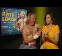 Keith Lemon and Kelly Brook on 'Keith Lemon: the Film'