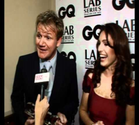 Kelly Brook and Gordan Ramsey at GQ awards