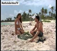 Kelly Brook Nipples Boobs in Bikini