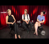 "Kristen Stewart, Charlize Theron and Chris Hemsworth, ""Snow White and the Hunstman"" Unscripted"