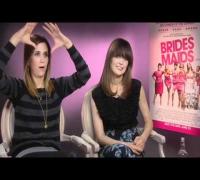 Kristen Wiig And Rose Byrne Interview -- Bridesmaids