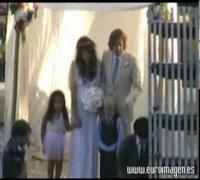 La boda de Milla Jovovich y Paul Anderson
