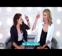 La Boite a Question with Kristen Stewart & Charlize Theron