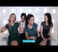 La Boîte à Questions  Selena Gomez Vanessa Hudgens Rachel Korine Question Box Spring Breakers)