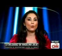 La delgadez de Angelina Jolie genera preocupación