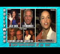 Larry King, Les Moonves & Julie Chen, Michelle Rodriguez, Wolfgang Puck H2963