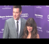 LEA MICHELE and CORY MONTEITH attend 2013 Chrysalis Butterfly Ball