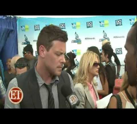 Lea Michele and Cory Monteith - Do Something Award 2012 ET interview (HD)