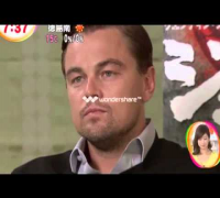 Leonard DiCaprio does Jack Nicholson's Eyebrow! - Eng. Sub(full interview)