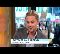 Leonardo DiCaprio Interview on Good Morning America!!