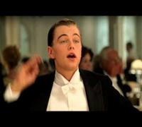 Leonardo DiCaprio. Moments from TITANIC. 2012 HD