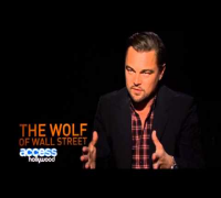 Leonardo DiCaprio The Wolf Of Wall Street ACCESS H Interview