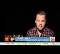 Leonardo DiCaprio The Wolf Of Wall Street Interview