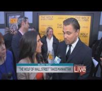 Leonardo DiCaprio: Wolf Of Wall Street Premiere