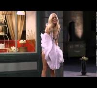 Lindsay Lohan buenísima y sensual como Marilyn Monroe, piernas perfectas