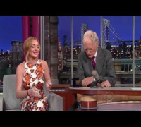Lindsay Lohan - Late night Show David Letterman 2013