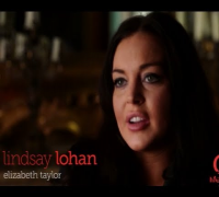 Lindsay Lohan Liz & Dick Interview & Behind-The-Scenes Set