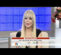 Lindsay Lohan on Late Night with Matt Lauer 'I am clean and sober now'