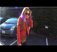 Lindsay Lohan Returns to Red Hair!