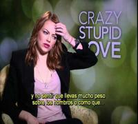 LOCO Y ESTÚPIDO AMOR entrevista con Emma Stone subtitulada - oficial de Warner Bros. Pictures