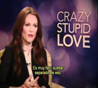 LOCO Y ESTÚPIDO AMOR entrevista con Julianne Moore subtitulada - oficial de Warner Bros. Pictures