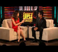 Lopez Tonight Show Jennifer Garner Piñata Smashing Contest 2112010