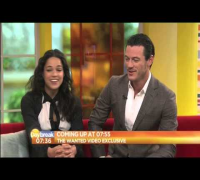 Luke Evans, Michelle Rodriguez on ITV Daybreak