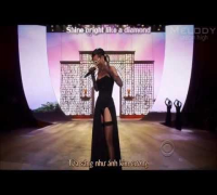 [Lyrics   Vietsub] Diamonds - Rihanna Live (Victoria's Secret Fashion Show 2012)