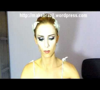 Make up Tutorial - White Swan ( Natalie Portman) Inspired