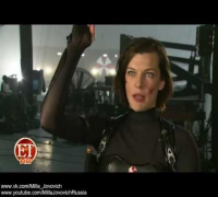 Making of Resident Evil: Retribution. Interview with Milla Jovovich