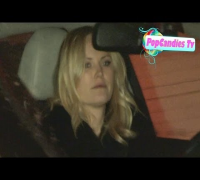 Malin Akerman departs Dinner with Fergie at Chateau Marmont in WeHo