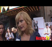"MALIN AKERMAN Interview at ""The Proposal"" Premiere"