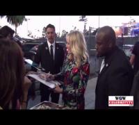 Malin Akerman spotted leaving 'Jimmy Kimmel Live!' show