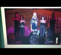 Malin Akerman & the Mystikats - New Song - EMA Awards 2012