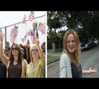Malin Akerman -- White Power!