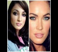 Maquiagem inspirada na Megan Fox! Ganhadora da votação.