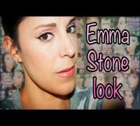 Maquillaje inspirado en Emma Stone en los Oscar 2012