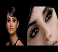Maquillaje rápido de ojos Penelope Cruz
