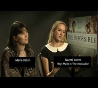 Maria Belon and Naomi Watts Interview - The Impossible