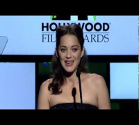 Marion Cotillard at the Hollywood Film Awards