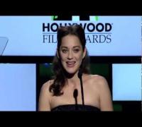 Marion Cotillard at the Hollywood Film Awards