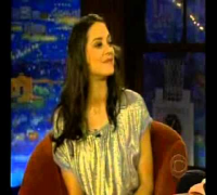 Marion Cotillard -  First appearance on Craig Ferguson 2007
