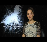 Marion Cotillard Interview -- The Dark Knight Rises