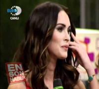 Megan Fox-BEYAZ ŞOV'DA [KANAL D]